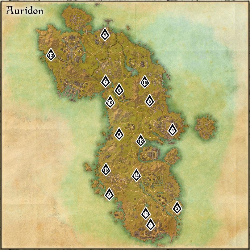 Auridon - Skyshards