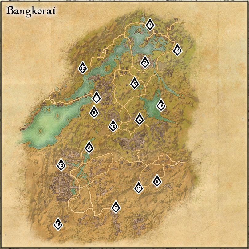 Bangkorai - Skyshards