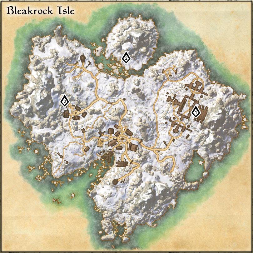 Bleakrock Isle - Skyshards