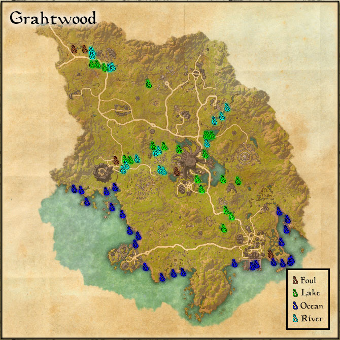 Grahtwood - Fishing Holes
