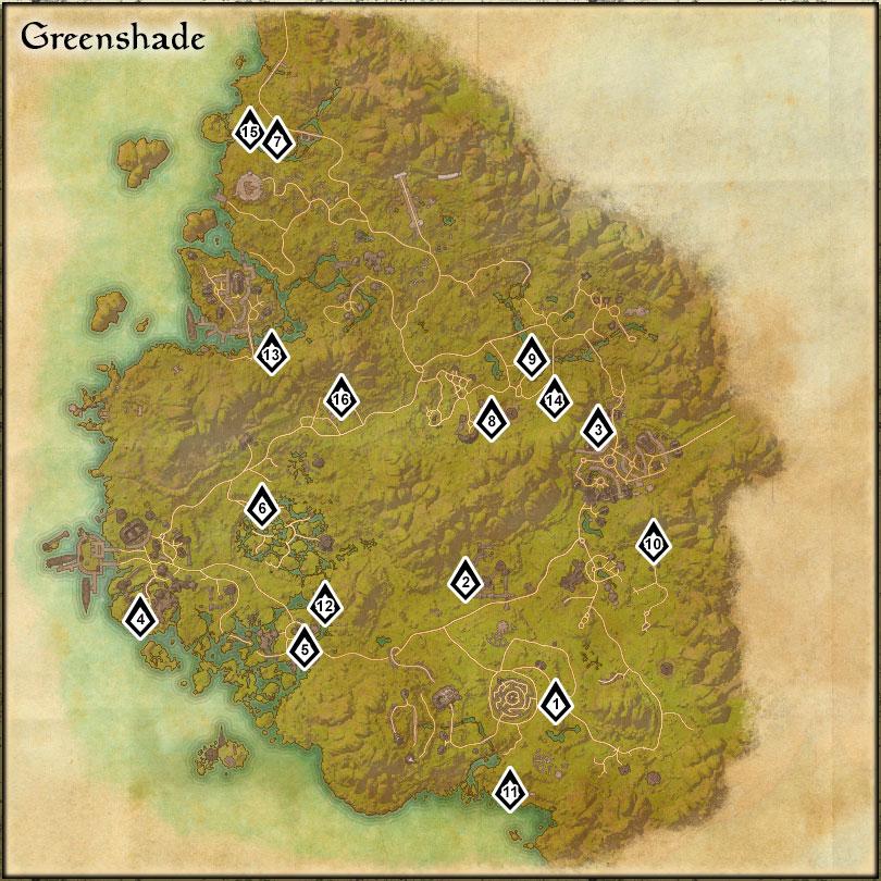 Greenshade - Skyshards
