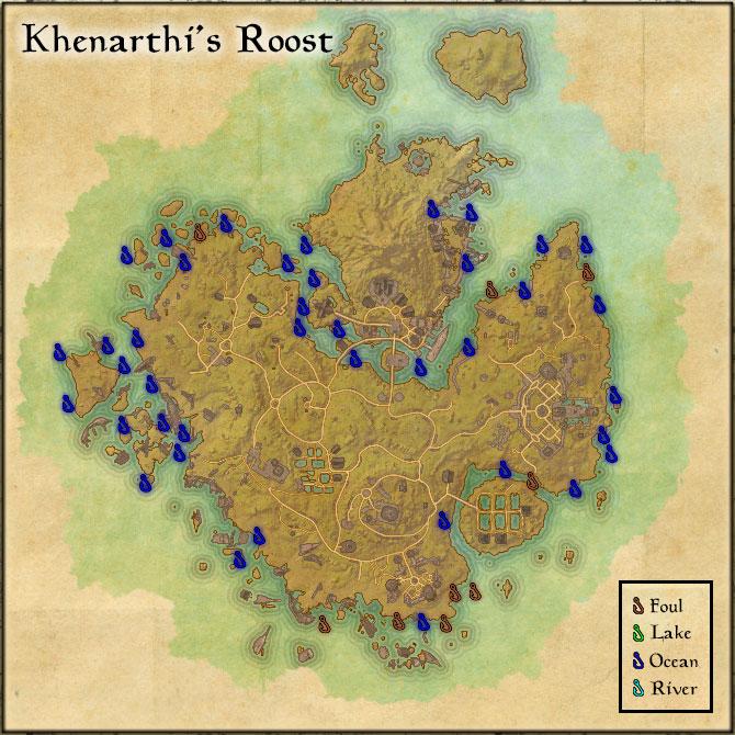 Khenarthi's Roost - Fishing Holes
