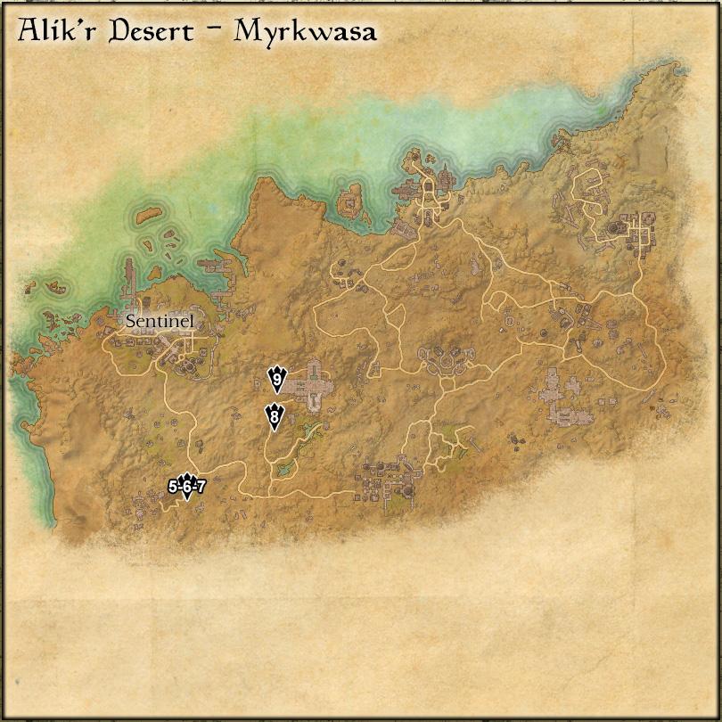 Alik'r Desert: Myrkwasa