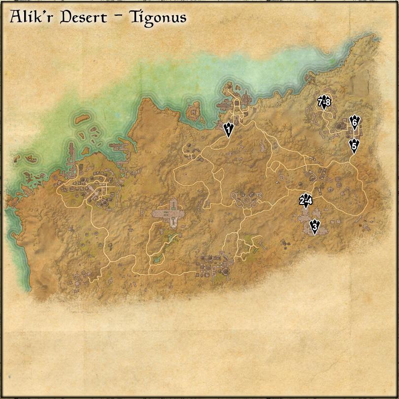 Alik'r Desert: Tigonus